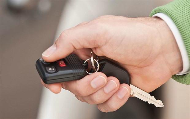 Copia de llave de vehiculo