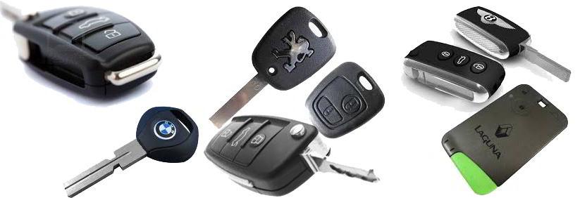Cambio y reparación de carcasas de llaves y mandos de llaves